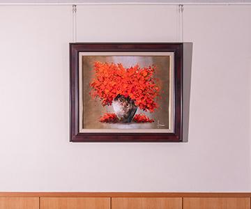 「情熱の紅花」 立川広己